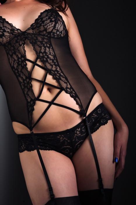 black underwear picture