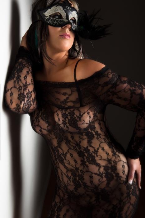 photograph of boudoir model