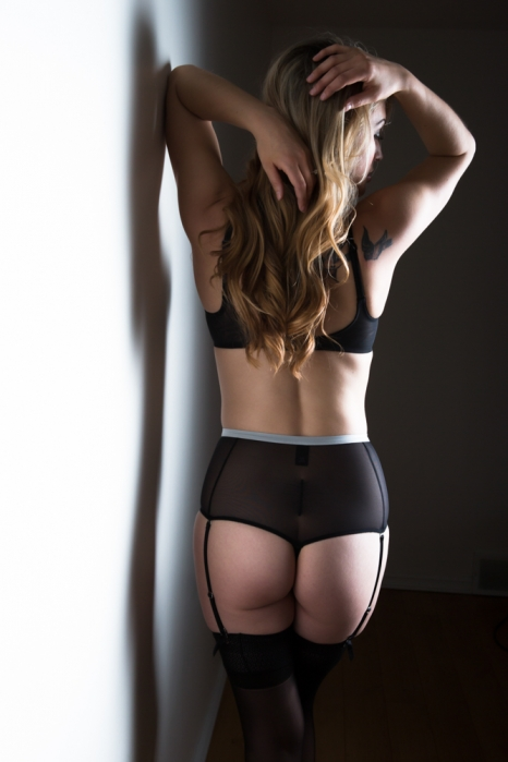 picture of woman in lingerie